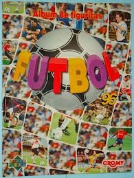 figuritas fútbol 96 cromy 1996 repetidas llená álbum