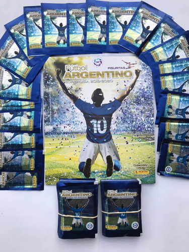 figuritas fútbol argentino 2019/20 album + 50 sobres