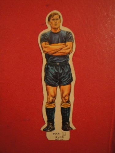 figuritas idolos 1969 silueta boca juniors suñe