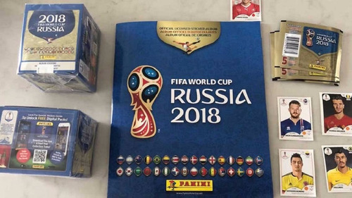 figuritas mundial 2018 comunes rusia mejor precio