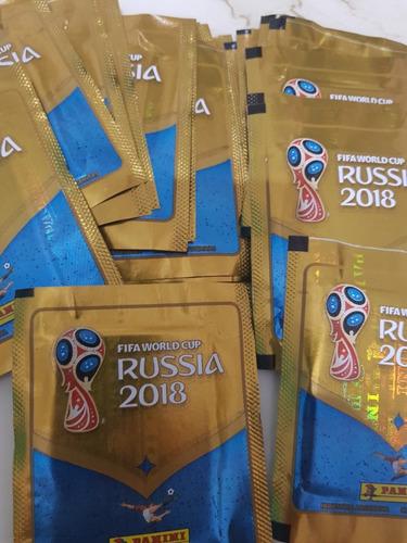 figuritas mundial rusia 2018 panini originales x sobre