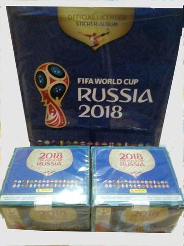 figuritas panini-100 und a 65 - dords 8 - mundial rusia 2018