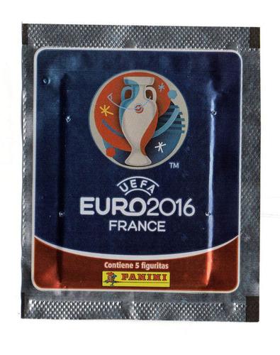 figuritas panini euro 2016  20 sobres cerrados impprtado