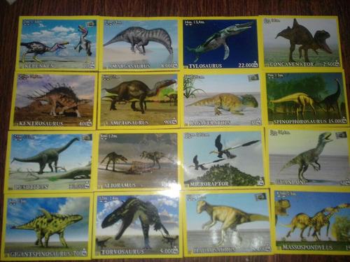 figuritas sueltas de dinosaurs