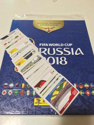 figuritas sueltas del album panini rusia 2018