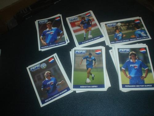 figuritas-tarjetas - pepsi futbol - 39