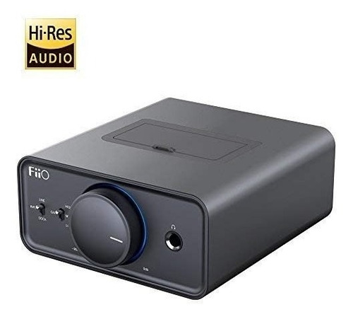 fiio k5docking amplificador de auriculares/dac, titanio
