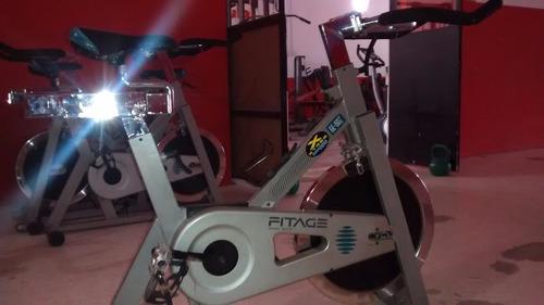 fija spin bicicleta