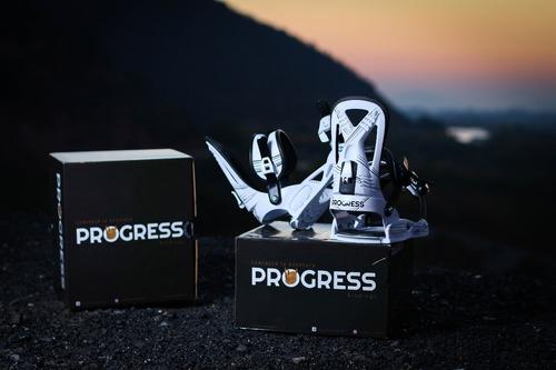 fijaciones de snowboard/sandboard - progress bindings