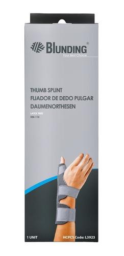 fijador ferula soporte de dedo pulgar ambidiestro blunding