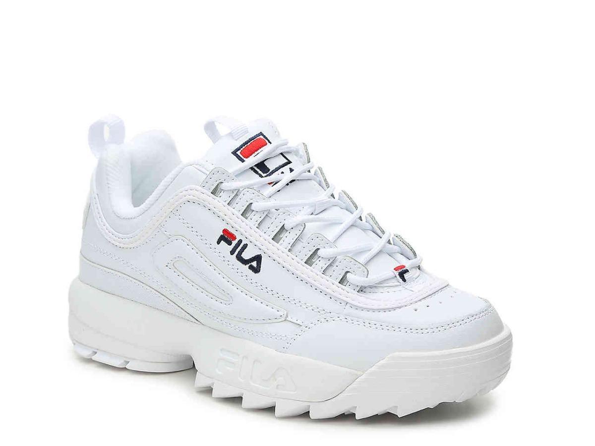 zapatos fila blancos originales