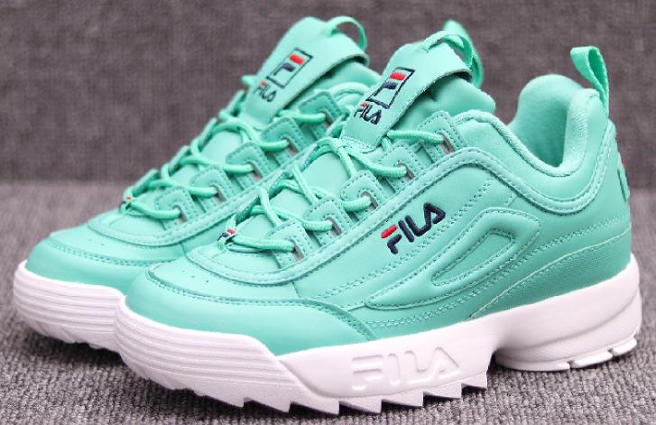 fila scarpe verde acqua