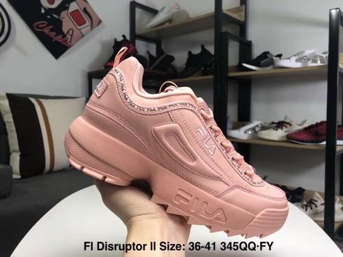 fila disruptor ll pink
