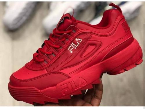 fila red dama