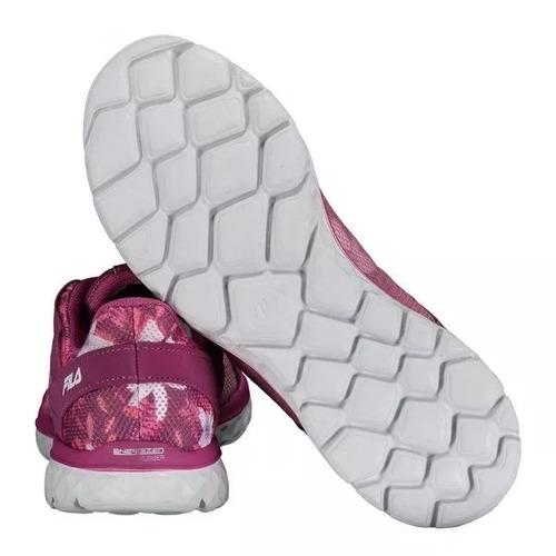 fila zapatilla training mujer lightstep comfort magenta