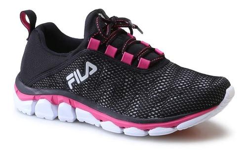 fila zapatillas mujer inverse w negro / rosa
