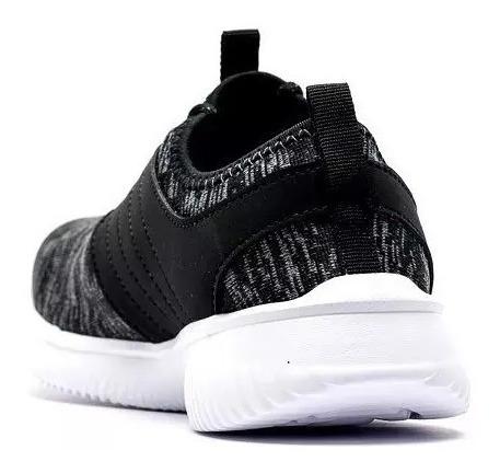 fila zapatillas running mujer slide negro - blanco