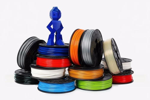 filamento 3d abs pla 1kg para impresora 3d. oferta abs s/.98