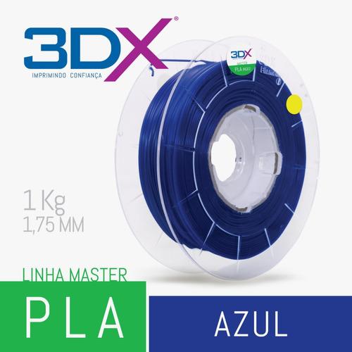 filamento 3d pla 1,75 mm | 1kg | azul