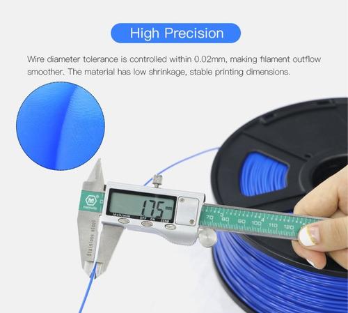 filamento 3d pla abs tpu petg 1.75mm anycubic cmprodemaq