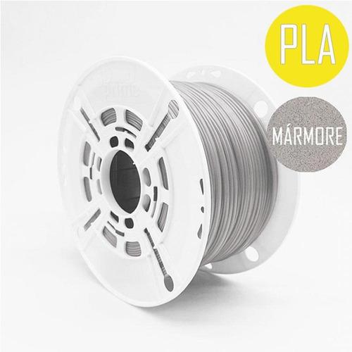 filamento 3d prime pla marmore 1,75mm 1kg