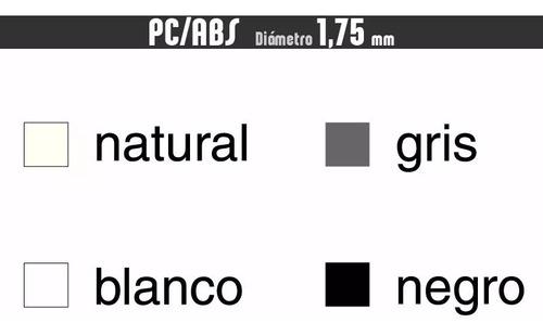 filamento 4 x pc/abs+spray +cuotas :: printalot
