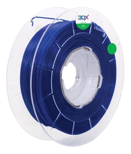 filamento abs 1,75 mm | 1kg | azul