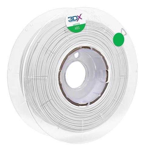 filamento abs 1,75 mm | 1kg | branco