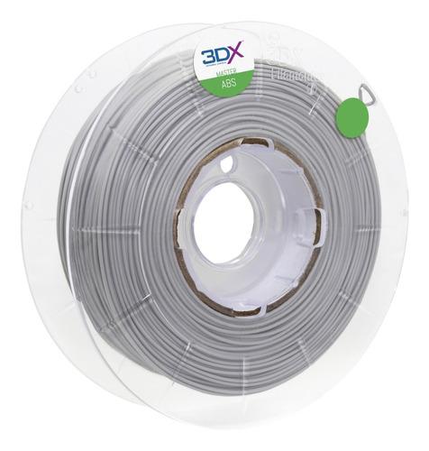 filamento abs 1,75 mm | 1kg | cinza claro