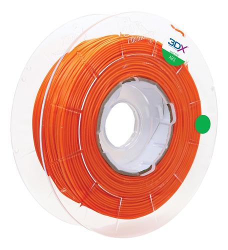 filamento abs 1,75 mm | 1kg | laranja