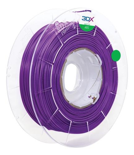 filamento abs 1,75 mm | 1kg | roxo (lilas)