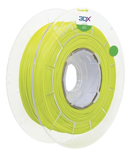 filamento abs 1,75 mm | 1kg | verde claro