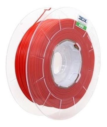 filamento abs 1,75 mm   1kg   vermelho