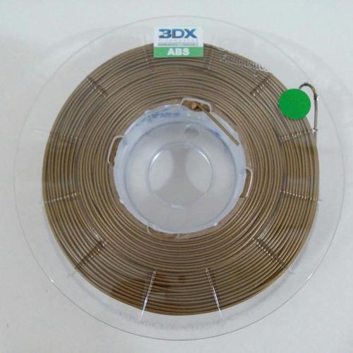 filamento abs 1,75 mm | 500g | dourado
