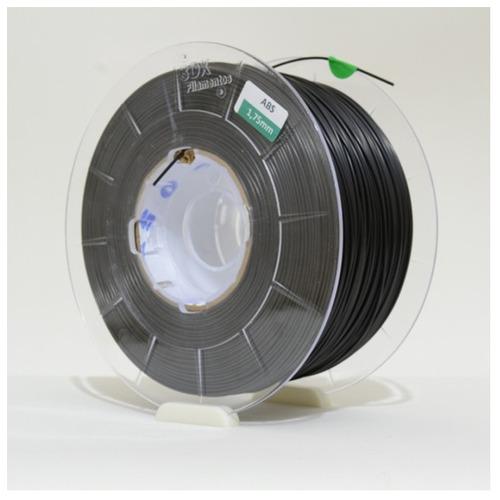 filamento abs mg94 1,75 mm | 1kg | preto - alta aderência