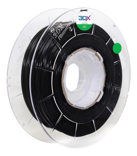 filamento abs preto 1,75 mm | 1kg | gp35