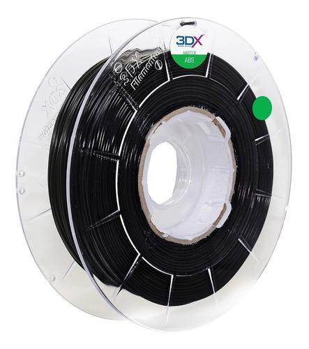 filamento asa preto 500g 1,75mm 3dx