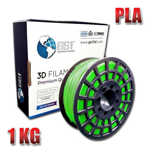 filamento color impresoras 3d 1,75mm 1kg pla 3d printer
