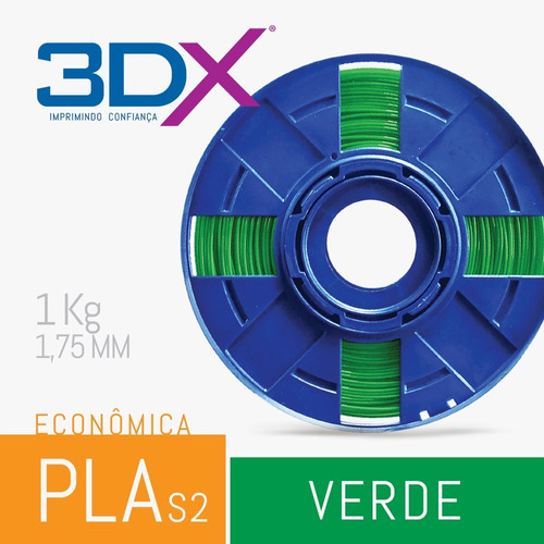 filamento flex tpu d50 1,75 mm | 500g verde s2