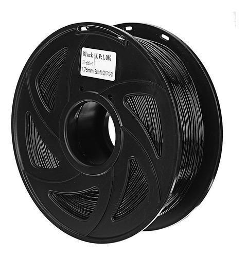 filamento flexible goma tpu impresora 3d negro 1kg importado