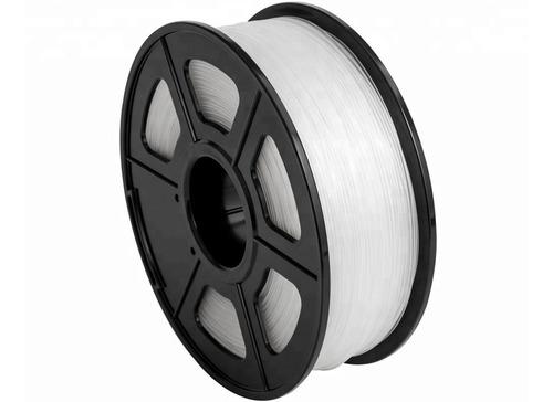 filamento flexible goma tpu impresora 3d transparente 1kg