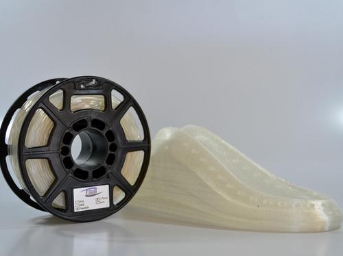 filamento flexível 250 gr 1,75 mm para impressoras 3d
