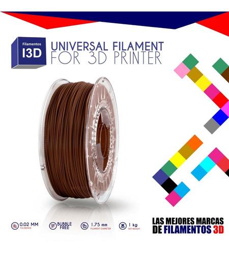 filamento impresora 3d pla 1.75 mm 1 kilo excelente calidad