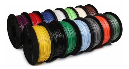 filamento impresora 3d pla rollo 1kg 1.75mm excelente calida