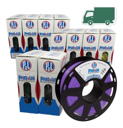 filamento pla 10x1 kg+envío gratis+cuotas!:: printalot
