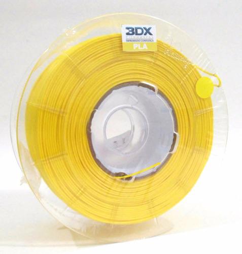filamento pla 1,75 mm | 1kg | amarelo