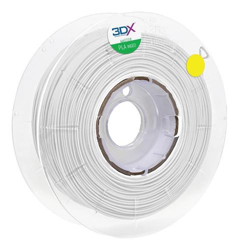 filamento pla 1,75 mm | 1kg | branco 3dx