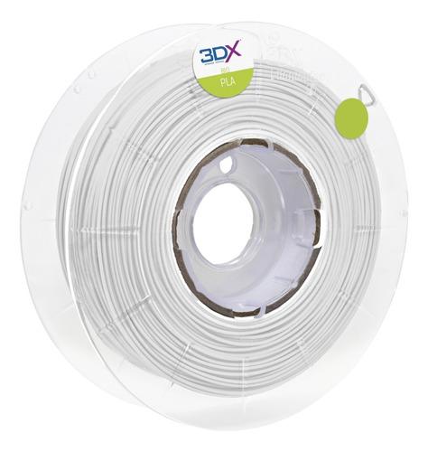 filamento pla 1,75 mm | 1kg | branco full