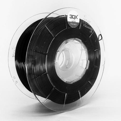 filamento pla 1,75 mm | 1kg | preto +