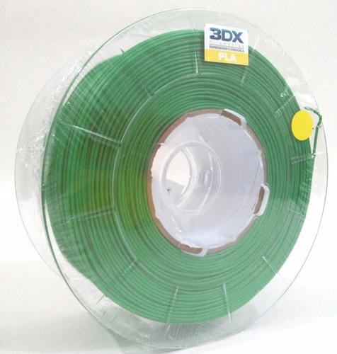 filamento pla 1,75 mm | 1kg | verde